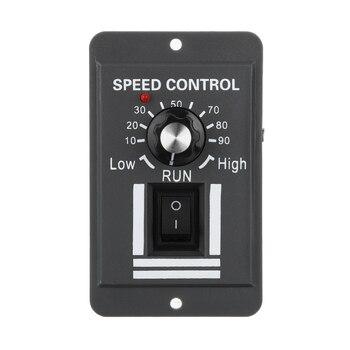 10A DC 12V 24V 36V 48V PWM Motor Speed Controller Reversible Switch Regulator Forward and Backward hot sale dc 12 48v 400w aluminum alloy cnc spindle motor er11 mach3 pwm speed controller mount 3 175mm