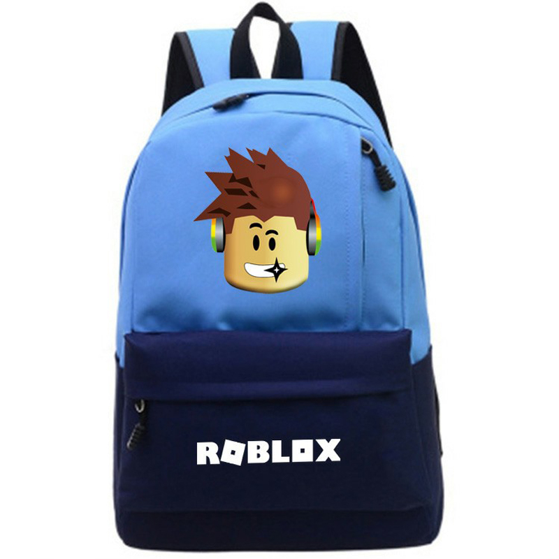 Children Color matching schoolbags kids travel backpack fashion double Shoulder Bag Game backpack for teenagers