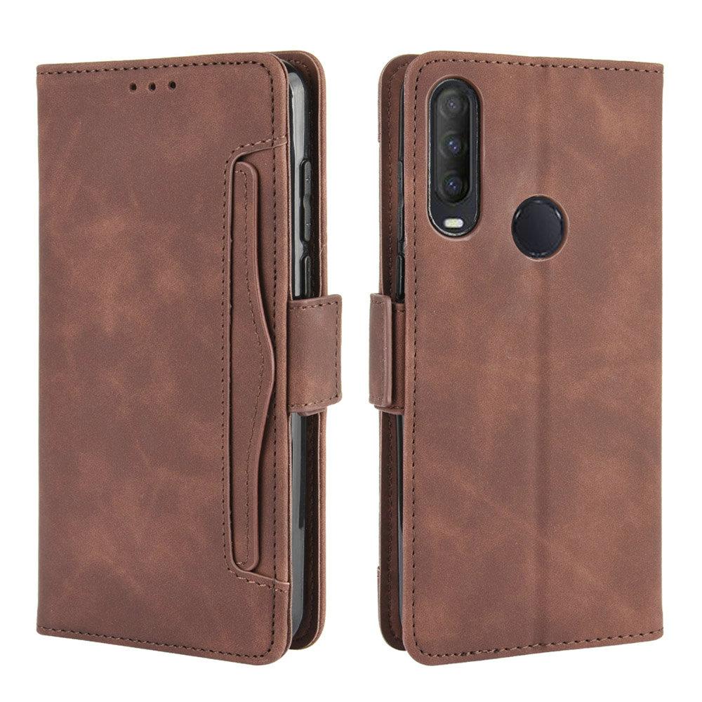 Card Slot Removable Wallet Shell for Alcatel 1V 2020 Flip Case Luxury Leather 360 Protection for Alcatel 1 V 2020 Case Alcate V1