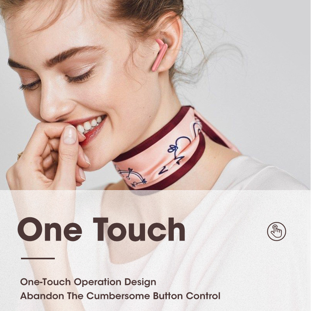 Pink Headphones Wireless Bluetooth Earphone Handsfree Stereo Sound Earbuds With Microphone TWS Gamming Headset PK i7 i12 i9000 5