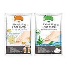 2pcs/Set Foot Peeling Exfoliating Foot Mask Remove Dead Skin Cuticles