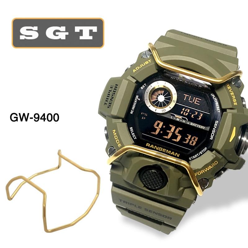 Bumper For Casio G-SHOCK DW5600/ 5610/GA100/GX56/GG1000/6900/700/800/GA400 Stainless Steel Watch Accessories Watchband Loop