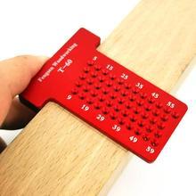 T60 деревообрабатывающий инструмент Т-образного деревянного калибра штангенциркуль линейка Столярный измерительный инструмент износостойкий и устойчивый к ржавчине прочный