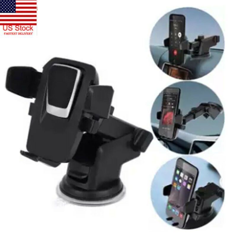 360° Adjustable Phone Holder Car Air Vent Gravity Design Mount Vehicle Sucker Car Mounted Support Cradle Stand