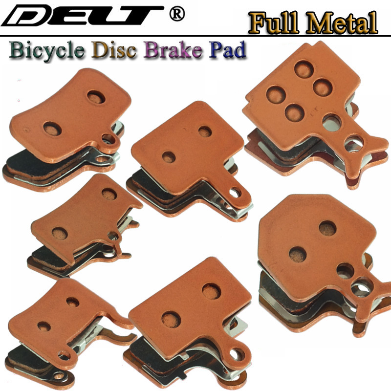 2 pairs Sintered Bike Bicycle disc Brake pad for <font><b>SHIMANO</b></font> FORMULA <font><b>355</b></font> M395M810 446 DEORE M755 M975 M966 M985 Accessories image