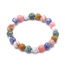 SZELAM 2019 Personalized Chakra Bracelet Handmade Beads Friendship Bracelets Men Jewelry Natural Stone Bracelet Femme SBR190353 fashion men 6mm bead bracelets classic natural matte stone beads charm handmade bracelet