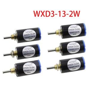 2 шт. WXD3-13-2W 10K ohm WXD3-13 2 Вт Поворотный многооборотный потенциометр с поворотной стороной