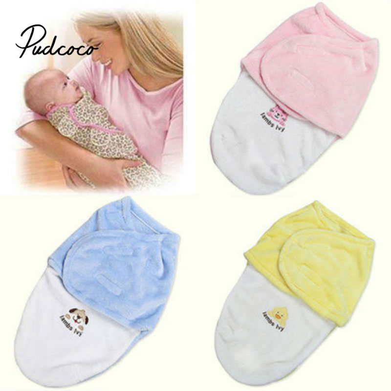 Pudcoco 2020 New Baby Swaddle Wrap Parisarc Cotton Soft Infant Newborn Baby Products Blanket  Swaddling Wrap Blanket Cartoon