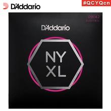 D'Addario Daddario NYXL0942 American Made Nickel Wound Electric Guitar Strings, Super Light, 9-42