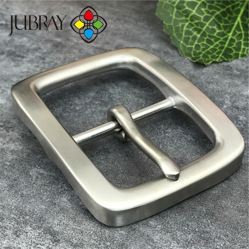 Solid Belt Buckles For Men D Ring Shape Metal-Free Pin Buckle Head High Quality Luxury Brand Mens Belt Buckle Head SK0002