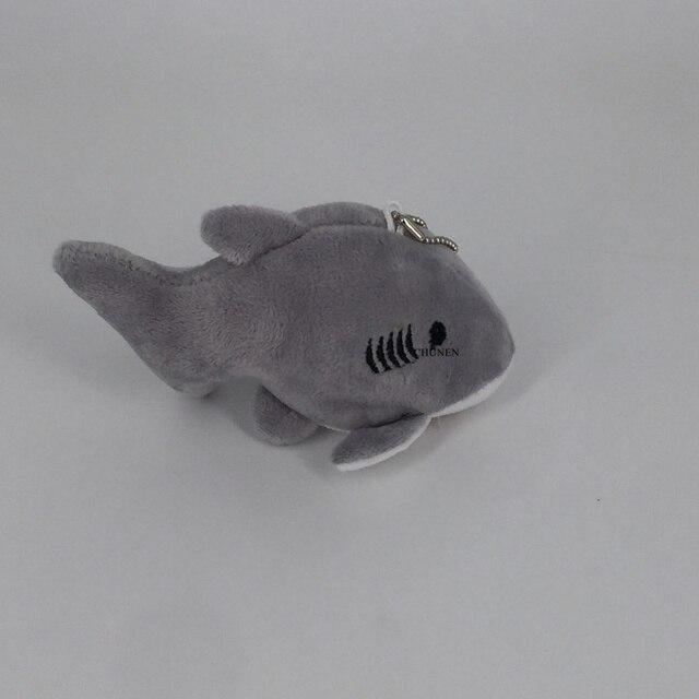 Rozmiar 12CM ok. Zwierzę oceaniczne pluszowe zabawki, Mini breloczek zabawki prezentowe lalki