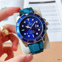 rolex- Luxury Brand quartz women Watches Quartz Watch Stainless Steel Strap wristwatch classic business dress men watch 2442