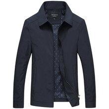 ربيع الخريف رجالي موضة اسكواش سترات جودة الصلبة الأسود الذكور مصدات الرياح عالية الجودة ماركة الرجال الملابس حجم M 3XL