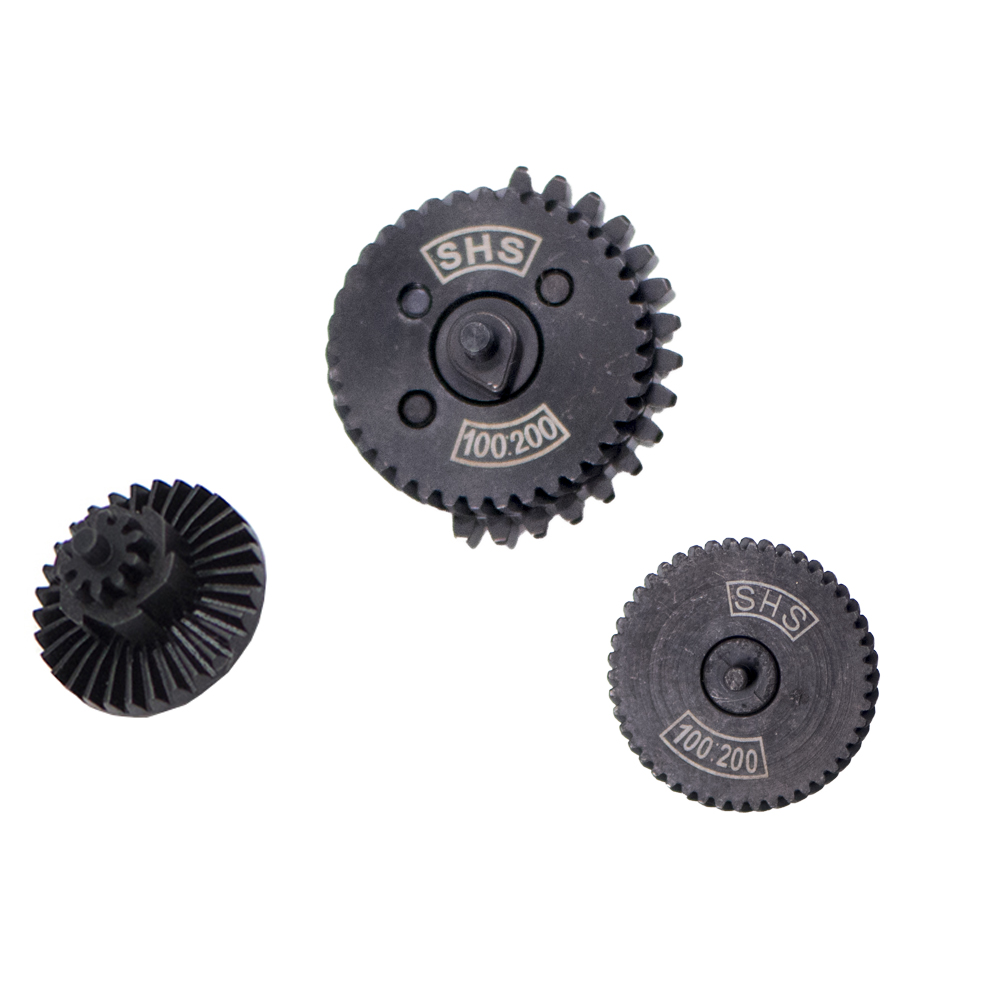 For SHS 100:200 100:300 Original Steel Torque Speed Gear Set For Ver.2/3 AEG Airsoft Gel Blaster Gearbox Paintball Accessories