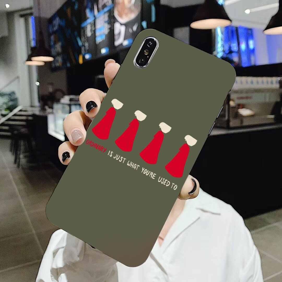 עבור LG G2 G3 G4 מיני G5 G6 G7 Q6 Q7 Q8 Q9 V10 V20 V30 X כוח 2 3 רוח את Handmaid של סיפור פוסטר סיליקון כיסוי