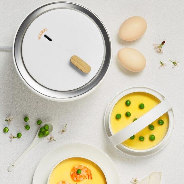 220V Electric Egg Cooker Household Breakfast Maker Multi Egg Custard/Hotspring Egg/Poached Egg/Boiled Egg Steaming Cooker 4