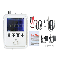 Portable Oscilloscope DSO150 Oscilloscope Digital Multimeter with Protection Box 2.4 TFT Probe Allicator Chip for Arduino