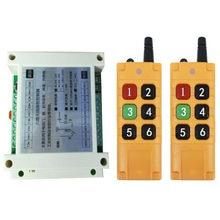 2000m dc12v 24v 36v 48v 6ch 6 ch controle remoto sem fio led interruptor de luz relé saída rádio rf transmissor e 433 mhz receptor
