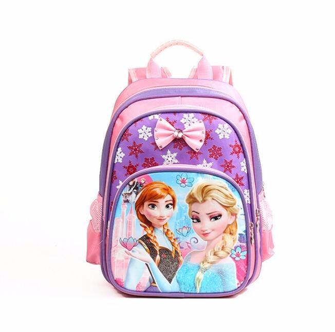 Free Gift Anna Elsa Children Bag School Bags Girls Cartoon Backpack Kids Character Fashion Schoolbag Mochila Escolar Infantil