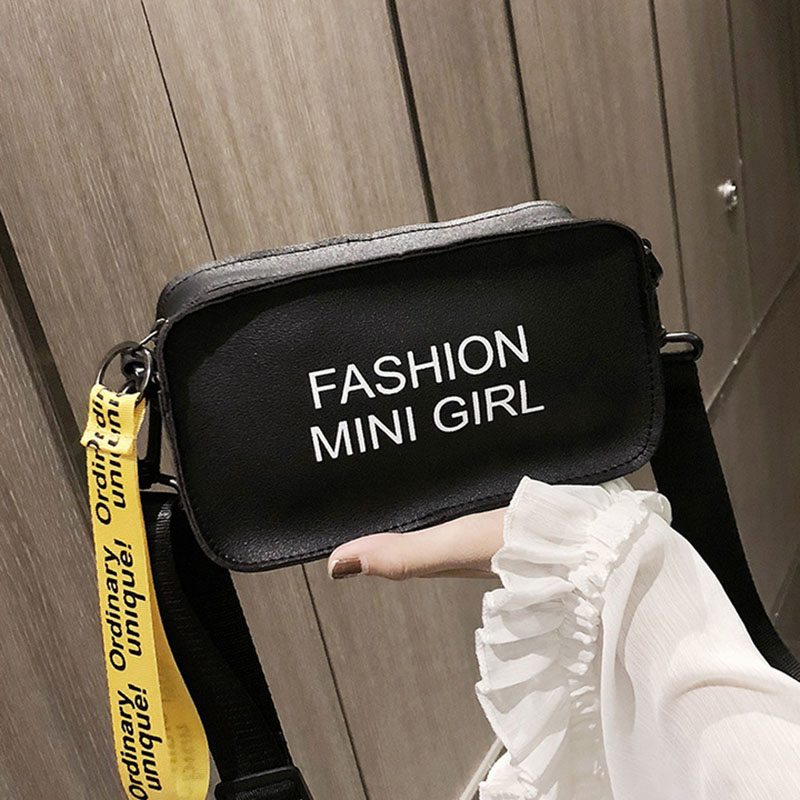 Waist Bag For Ladies 2019 Female Waterproof Letter Waist Packs Small Purse Phone Casual PU Leather Women Fanny Pack Chest Bag
