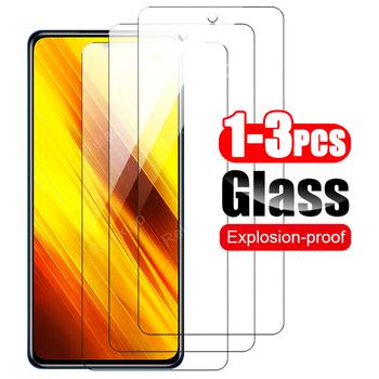 3 sztuk ochraniacz ekranu dla Xiaomi poco x3 szkło hartowane dla Xiaomi Poco X3 NFC szkło ochronne dla Xiaomi Po co X3 NFC film tanie i dobre opinie Relaxtoo Przezroczysty CN (pochodzenie) Folia na przód