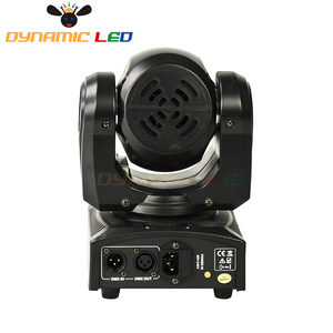 Image 2 - Mini 60W Moving Head Light With Halo Effect Beam Led Stage lighting RGBW 4in1 Dj Light