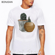 vintage tshirt men Cute cactus printed t-shirt camisetas hombre art aesthetic clothes funny t shirt homme tumblr tops tee shirt sexy lady and sphinx cat print vintage t shirt men summer tops tee shirt homme aesthetic clothes mens tshirt streetwear t shirt