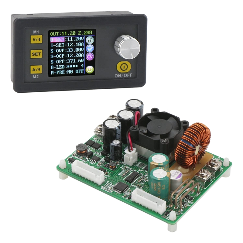 DPS5020 Constant Voltage Current DC-DC Step-Down Communication Power Supply Buck Voltage Converter LCD Voltmeter 50V 20A