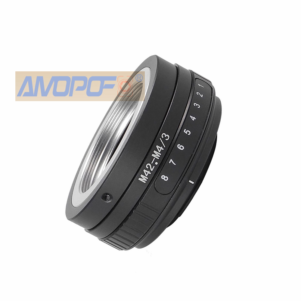 M42-M4//3 Tilt Lens Adapter M42 Screw Mount Lens to Micro 4//3 M43 M4//3 Camera Adapter GF3 EPL3 EPM1 EP2