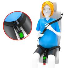 2 Piece Pregnant Safety Belt, Pregnant Car Seat Belt Adjuster,Comfort and Safety for Maternity Moms Belly,Protect Unborn Baby
