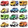 Children's toy mini traffic-themed alloy car model