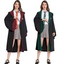 Dziewczyny kobiety hermiona Granger kostium magiczna szkoła szata spódnica krawat jednolite dzieci dorosły kreator ubrania kostium na Halloween tanie tanio OSMANLUER CN (pochodzenie) Wykop Spódnice Film i TELEWIZJA WOMEN Zestawy Hermione Granger Hermione Granger Costume Poliester
