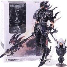 Original Final Fantasy XIV Online Estinien the Azure Dragoon PVC Action Figure Collectible Model Toy
