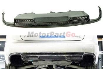 A Style Real Carbon Fiber Rear Diffuser For AUDI A6 A6L C7 Normal Bumper 2013UP   A059 1