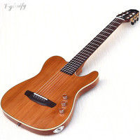 high grade thin body silent classic guitar 39 inch 22 frets solid wood red cedar top okoume wood back and side classic guitar