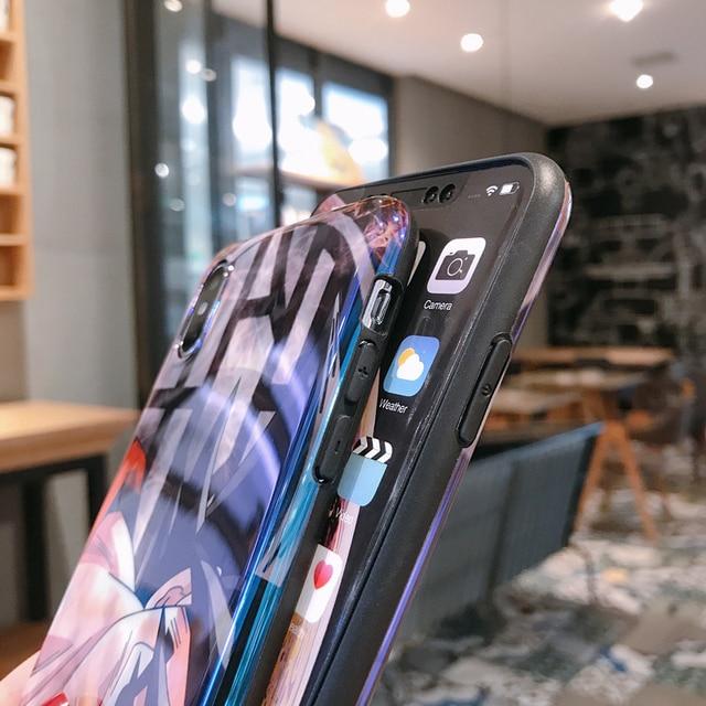 Dragon Ball Z Super Goku DBZ pour iPhone 11 Pro XS MAX 6 S 7 8 Plus X XR lumière Bleue Anime Doux housse En Silicone