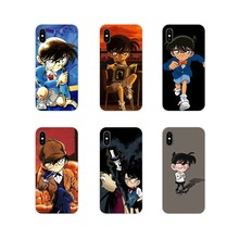 For Samsung Galaxy S3 S4 S5 Mini S6 S7 Edge S8 S9 S10 Lite Plus Note 4 5 8 9 Custom Case Detective Conan There is only one truth(China)