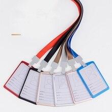 Алюминиевые Заказные шейные нагрудники рабочие карты Висячие карты работника металлические выставочные бирки