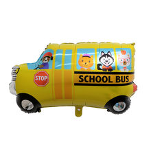 1pcs Big Toy Car Foil Ballon Kids Baby Shower Boy Tank Ambulance Bus Fire Truck Birthday Party Decoration Train Cars Balloons(China)