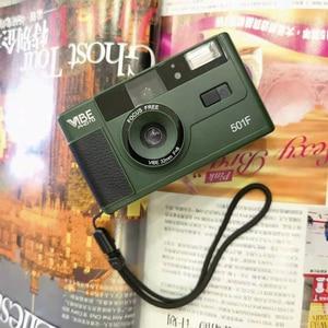 Image 5 - Vibe בציר רטרו 501F 35mm לשימוש חוזר שאינו חד פעמי סרט מצלמה שחור/אדום/שמפניה כסף/ורוד עם קודאק UltraMax 400 סרט