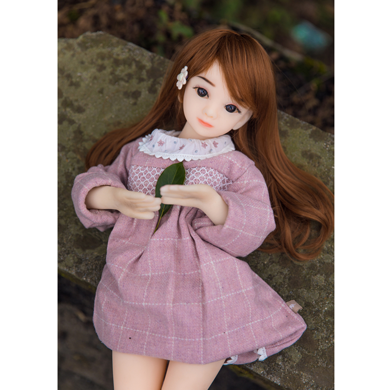 High Quality 65cm Soft Skin A Cup Small Breast Full Medical TPE Silicone Mini Sex Doll Japan 18 Age Adult Girl Doll