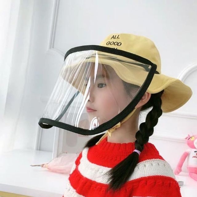 Removable Anti-saliva Dust-proof Full Face Protective Cover Mask Visor Shield 2