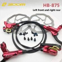 Zoom HB-875 тормоз велосипедный велосипед mtb Гидравлический дисковый тормоз горный велосипед тормоз лучше, чем M395 M447 левый передний правый задний