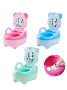 Baby-Pot Toilet-Seat Backrest Training Girls Boys Children for Potty Portable Bedpan