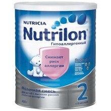 Молочная смесь Nutrilon Гипоаллергенный 2 с 6 мес 400 гр
