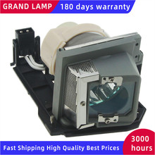 330 9847/725 10225 Replacement Projector Lamp with Housing for DELL S300 / S300W / S300Wi Projectors HAPPY BATE