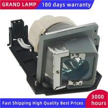 330 9847/725 10225 substituição lâmpada do projetor com alojamento para dell s300/s300w/s300wi projetores bate feliz