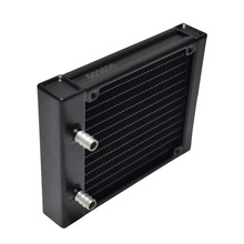 OCOCOO 120D753 Thick 27MM Water Cooler Cooling Radiator  For Computer Pure Aluminum Heatsink