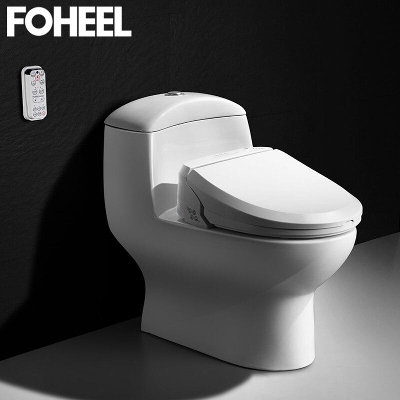 Fotalon Smart siège de toilette électrique Bidet couverture Smart Bidet chauffé propre sec Massage siège de toilette pour enfant femme le vieux