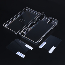 2021 NEW multiple colour game case cover replacement case screen lens for Nintend DS Lite N DSL full Housing Case Cover